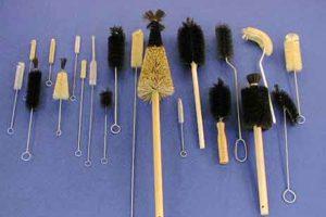 Cepillo de laboratorio