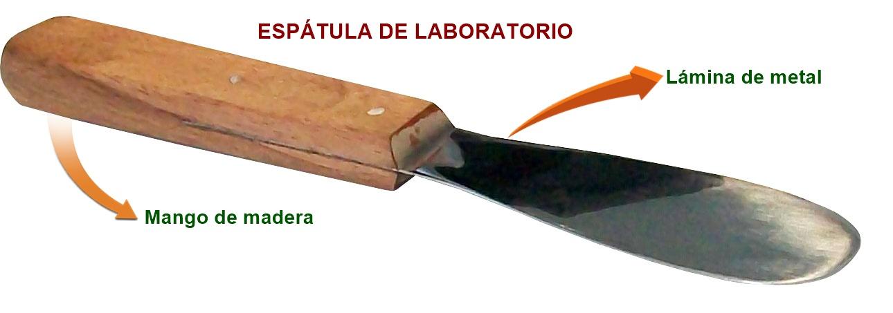 espatula de laboratorio