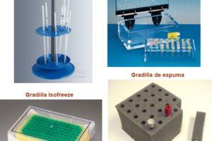 gradilla protectora, de espuma, para pipeta, isofreeze